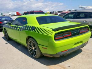 2015 Dodge Challenger R/T Scat Pack Green 6.4