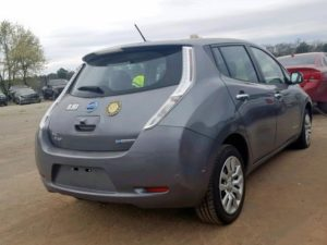 2015 Nissan Leaf S Gray