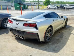 2017 Chevrolet Corvette Stingray Silver 6.2