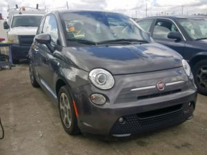 2017 FIAT 500 Electric Gray