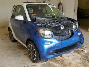 2017 Smart Fortwo White