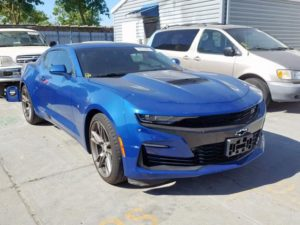 2018 Chevrolet Camaro Blue 6.2