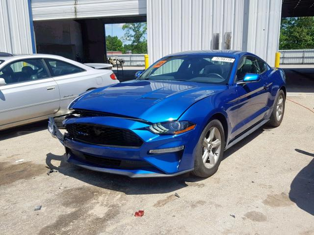 2018 Ford Mustang Blue 2.3