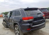 2016 Jeep Grand Cherokee Overland Blue фото сзади слева