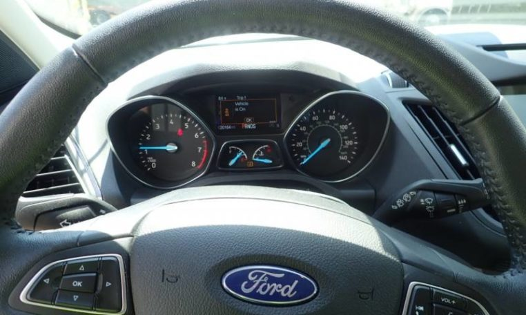 2018 Ford Escape Gray фото пробег