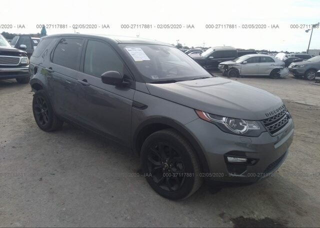 2018 Land Rover Discovery Sport HSE 2.0 Gray фото спереди справа