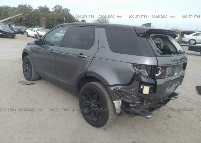 2018 Land Rover Discovery Sport HSE 2.0 Gray фото сзади слева