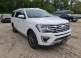 2019 Ford Expedition Max Limited 3.5 White фото спереди справа