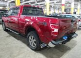 2019 Ford F150 Supercrew 3.0 Diesel Red фото сзади слева