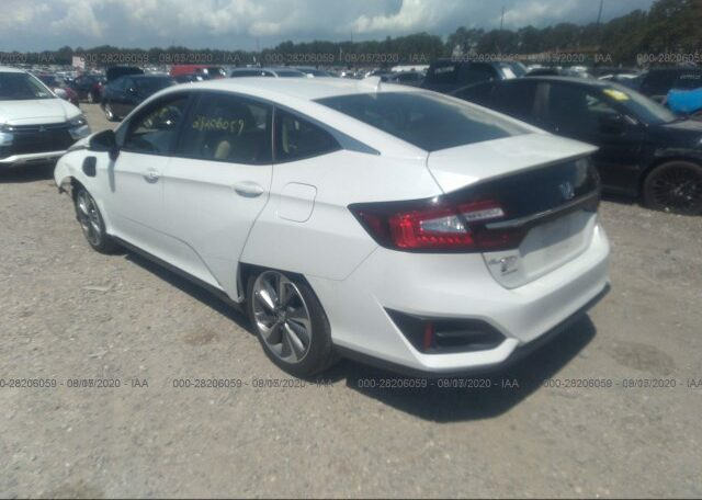 2018 Honda Clarity Touring Plug-in Hybrid 1.5 White фото сзади слева