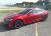 2020 Tesla Model S Long Range Electric Red фото спереди слева