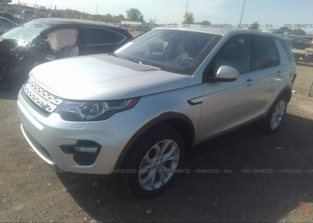 2019 Land Rover Discovery Sport HSE 2.0 Silver фото спереди слева