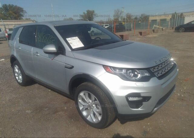 2019 Land Rover Discovery Sport HSE 2.0 Silver фото спереди справа