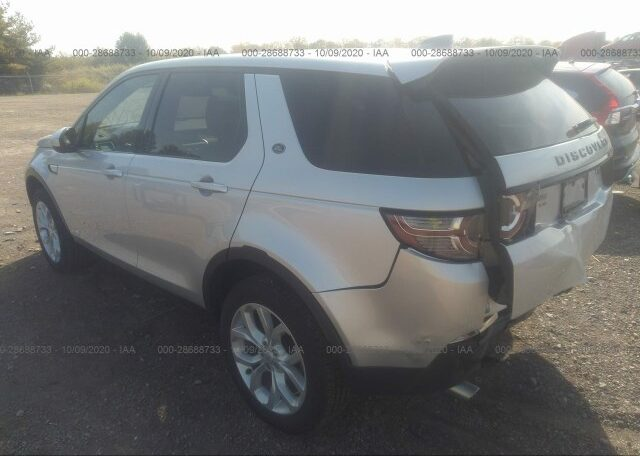 2019 Land Rover Discovery Sport HSE 2.0 Silver фото сзади слева