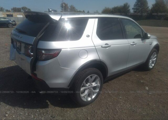 2019 Land Rover Discovery Sport HSE 2.0 Silver фото сзади справа