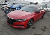 2019 Honda Accord Sport 1.5 Manual2019 Honda Accord Sport 1.5 Manual Red фото спереди слева