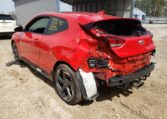 2020 Hyndai Veloster Turbo 1.6 Red фото сзади слева