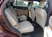 2018 Ford Explorer Limited 2.3 Maroon фото салон сзади